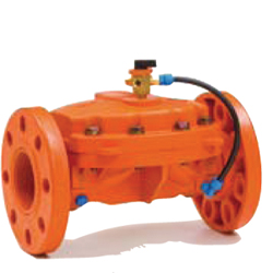 Plastic valves  PN 10 bar Flanged CONNECTION