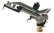 "Metalic Sprinkler of 1.1/4"", female, sectoral, and two nozzle4"