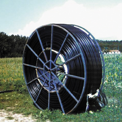 Polyethylene pipe for irristand OVAL